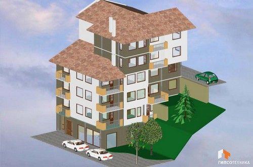 Офиси, магазин и жилищна част - идеален център